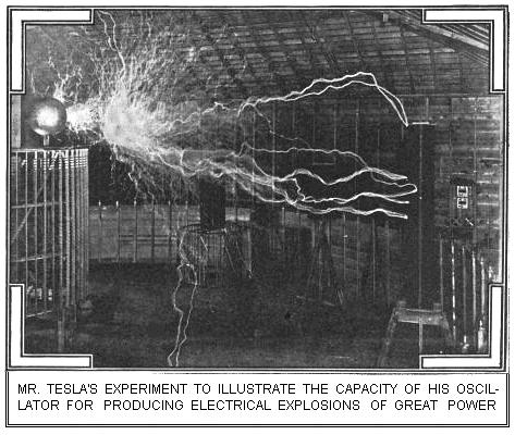 Tesla's Equipment