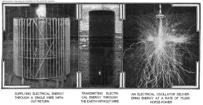 Tesla's Experimental Room