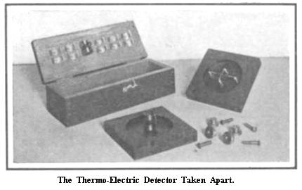 Thermo-Electric Detector