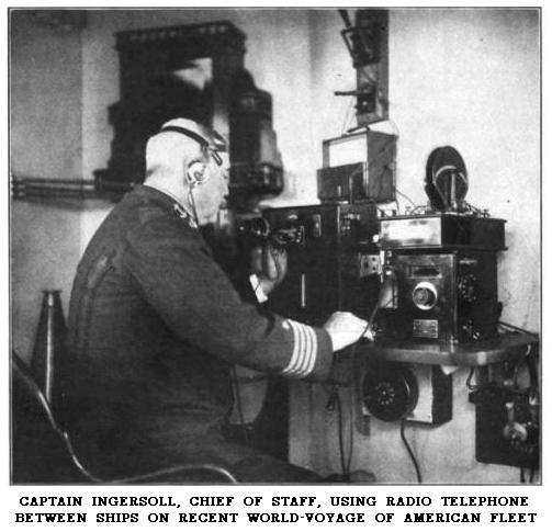 Ingersoll in radio room