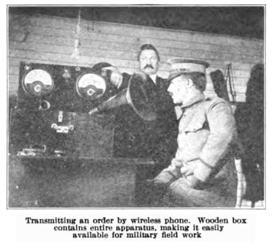 Wireless radiotelephone