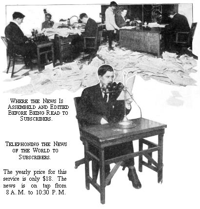 editorial office of the New Jersey Telephone Herald