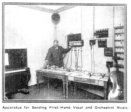 Apparatus for Sending First-hand Vocal and Orchestral Music