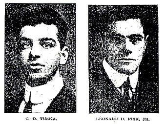 C. D. Tuska and Leonard D. Fisk, jr.