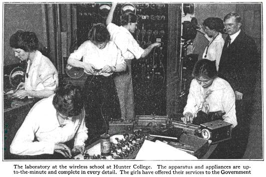 Hunter College wireless laboratory