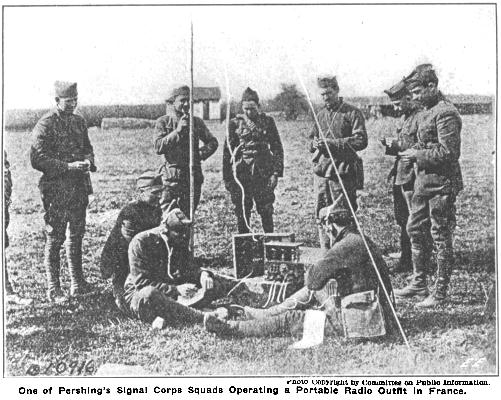 a history of military communications in world war i Encyclopaedia of the first world war the spartacus encyclopaedia contains the following sections: chronology, outbreak of war, countries, allied armed forces, important battles, technology, political leaders, british home front, military leaders, life in the trenches, trench system, trench war.
