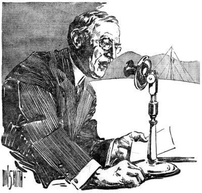 Wilson at microphone