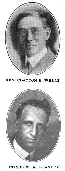 REV. CLAYTON B. WELLS and CHARLES A. STANLEY