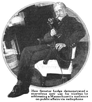 William Lodge, broadcasting