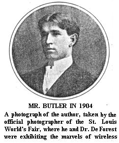 Butler in 1904