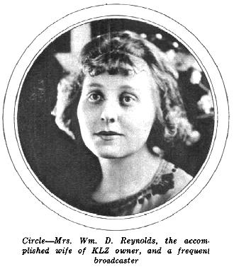 Mrs. William D. Reynolds